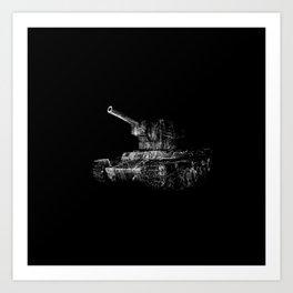 Soviet Tank Art Print