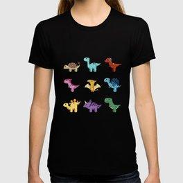 Dinosaur Chart T-shirt