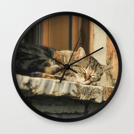 Siesta Wall Clock