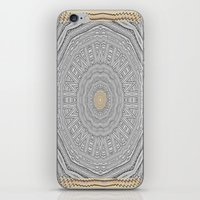 wooden iPhone & iPod Skins featuring Wooden Popart by Pepita Selles
