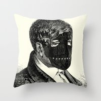 bdsm Throw Pillows featuring BDSM XXVI by DIVIDUS