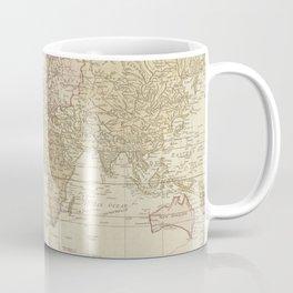 Vintage Map of The World (1775) 4 Coffee Mug