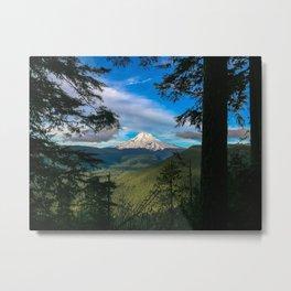 Mountain View Metal Print