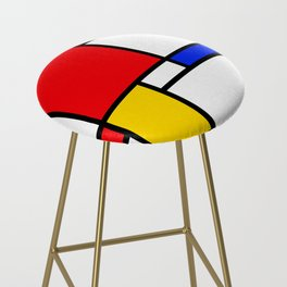 Piet Pattern Bar Stool
