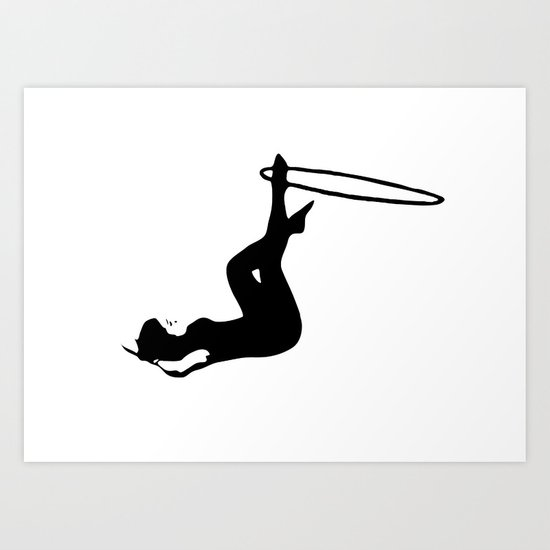 The Gymnast Art Print