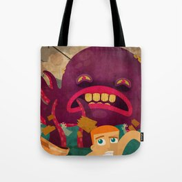 giant octopus Tote Bag