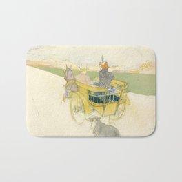 """Henri de Toulouse-Lautrec """"Partie de Campagne"""" Bath Mat"""