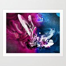 N-Vibe Art Print