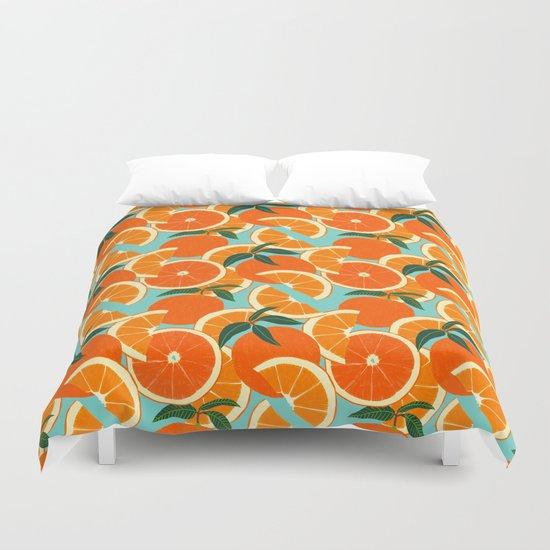 Orange Harvest - Blue by leannesimpsonart