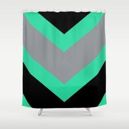 Chevron stripes Shower Curtain