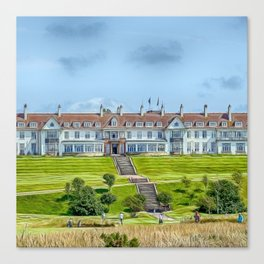 The Turnberry Hotel Canvas Print