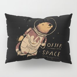 otter space Pillow Sham