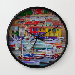Loads of Color Wall Clock