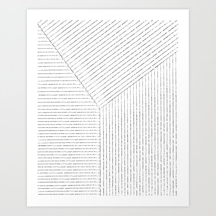 Lines Art Kunstdrucke