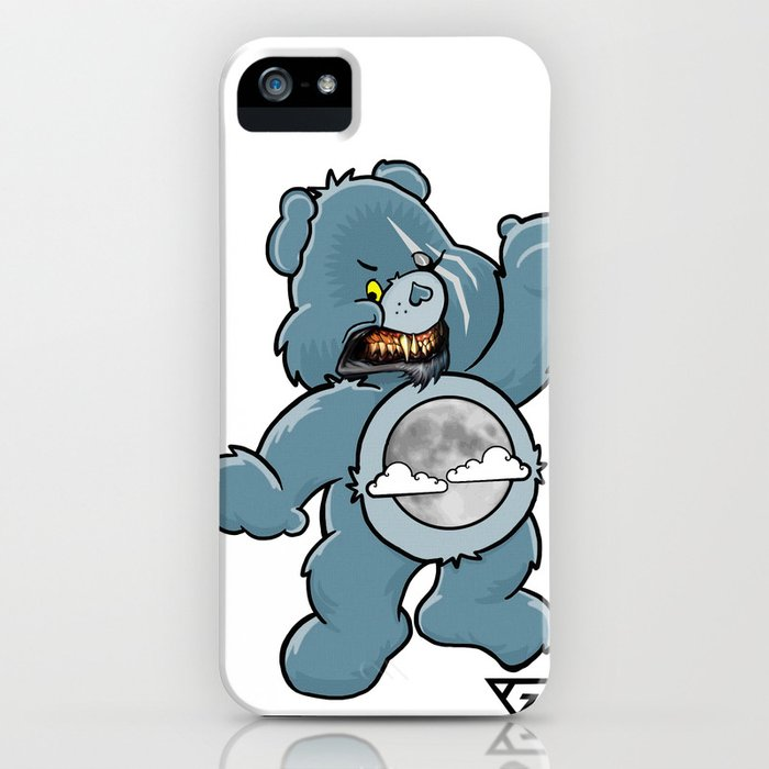 Werebear Snarl iPhone Case