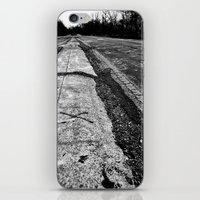 miles davis iPhone & iPod Skins featuring 3 Miles by Exit #9 Photography