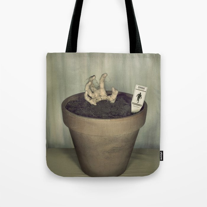 Zombie Plant Tote Bag