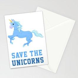 Save The Unicorns Stationery Cards