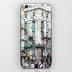 Barceona in pastel colors iPhone & iPod Skin