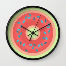 Donut Be Sad Wall Clock