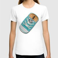 vans T-shirts featuring Cute blue teal Vans all star baby shoes iPhone 4 4s 5 5s 5c, ipod, ipad, pillow case and tshirt by Three Second