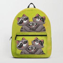 Raccoon Family! Backpack