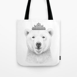 Queen bear Tote Bag