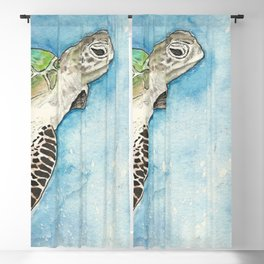 Sea Turtle Blackout Curtain