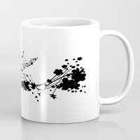 sparrow Mugs featuring Sparrow by Cristian