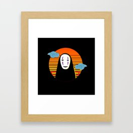 No Face a Lonely Spirit Framed Art Print