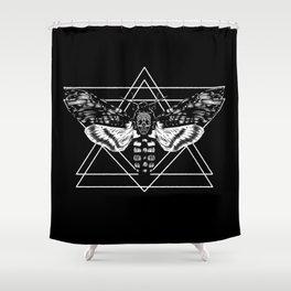 Death's Head Hawkmoth Shower Curtain