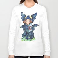 toothless Long Sleeve T-shirts featuring toothless by noCek