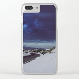White Sands New Mexico Clear iPhone Case