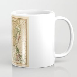 Map of Asia by Robert Laurie and James Whittle (1799) Coffee Mug