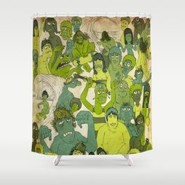 Party Hardy Shower Curtain
