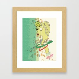 Lucy Crack Framed Art Print