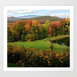 Warren Vermont Foliage Art Print