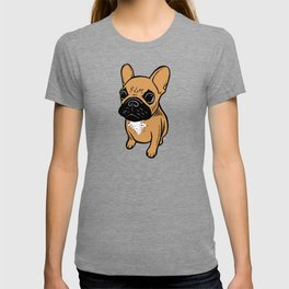 Fawn Frenchie Puppy T-shirt
