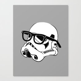 Nerd Trooper Canvas Print