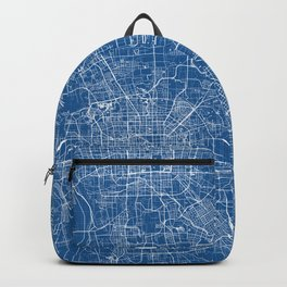 Beijing City Map of China - Blueprint Backpack