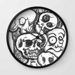 Weird Skecth  Wall Clock