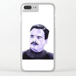 Jeff Gillooly Clear iPhone Case