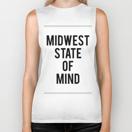 MIDWEST STATE OF MIND Biker Tank