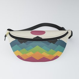 Life Is A Mountain Fanny Pack
