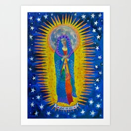 """Mary: """"Let it Be"""" Art Print"""