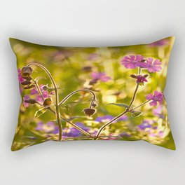 Summer Dream Wildflowers Meadow #decor #society6 Rectangular Pillow