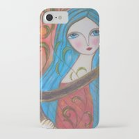 inspiration iPhone & iPod Cases featuring Inspiration by Dulcamara