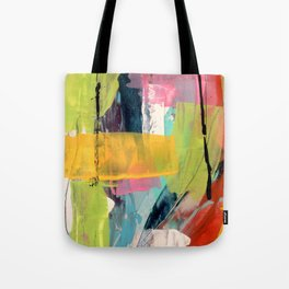 Hopeful[2] - a bright mixed media abstract piece Tote Bag