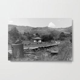 Mountain, New Zealand Metal Print