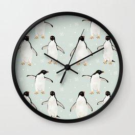 PENGUIN FELLOWSHIP Wall Clock